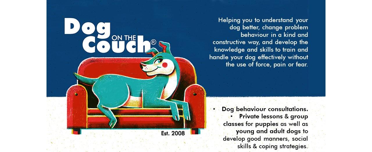 Logo: Dog behaviour consultant and dog trainer, Mignon du Preez, Pretoria